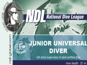 ndl junior universal diver