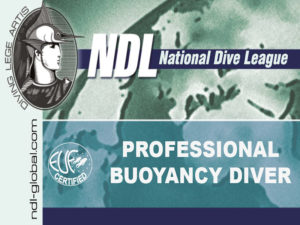 ndl professional buoyancy diver